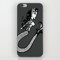 Modern Day Mermaid iPhone & iPod Skin