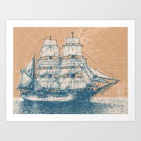 Age of Exploration Art Print