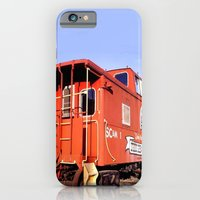 Lil Red Caboose -Wellsboro Ave Hurley ArtRave iPhone 6 Slim Case