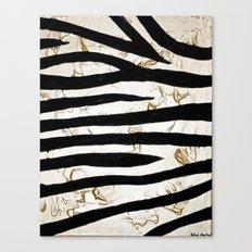 Tyger Stripes Canvas Print