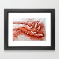 Outstretched Framed Art Print