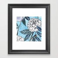 Flowers For You #2 Framed Art Print