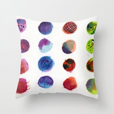 Dot Com Throw Pillow