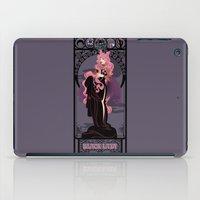 Black Lady Nouveau - Sai… iPad Case