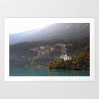 House On The Lake Art Print