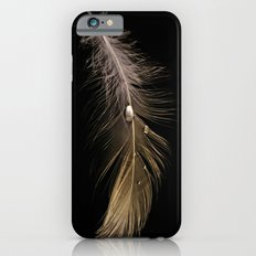 White Feather and Water iPhone 6 Slim Case