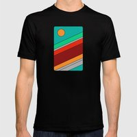 Moon Spotting Mens Fitted Tee Black SMALL