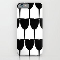 Vino - Black on White Slim Case iPhone 6s