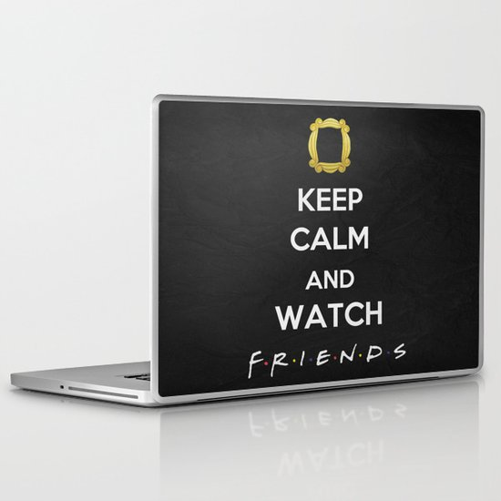 F.R.I.E.N.D.S - Keep Calm Laptop & iPad Skin