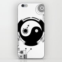 Tech Yin Yang iPhone & iPod Skin