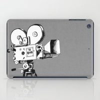 Vintage Filming iPad Case
