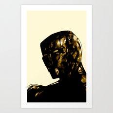 Man of Iron Art Print