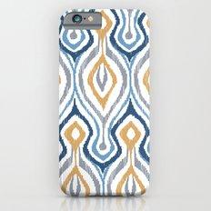 Sketchy Ikat - Saddle iPhone 6s Slim Case