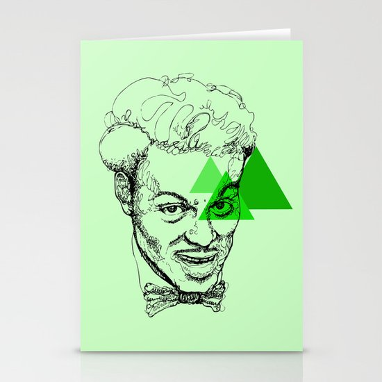 Chuck Berry Stationery Card
