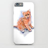 Happy Orange Kitten iPhone 6 Slim Case