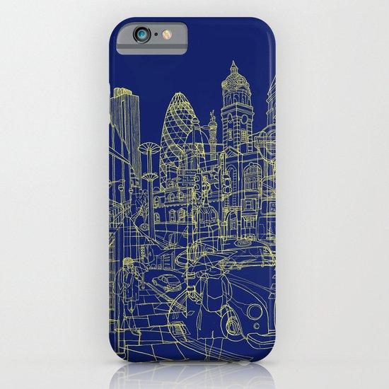 London! Navy iPhone & iPod Case