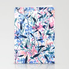 Wandering Wildflowers Bl… Stationery Cards