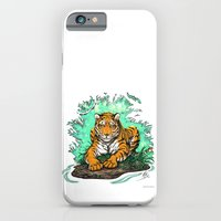 iPhone & iPod Case featuring Tiger by André Reina