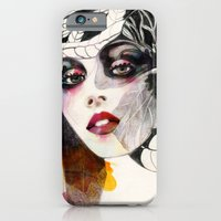 iPhone & iPod Case featuring Flower Girl  by Felicia Atanasiu