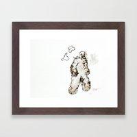 Golem Framed Art Print