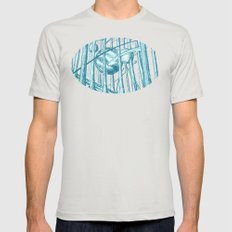 Canopy Mens Fitted Tee Silver SMALL