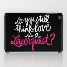 Laserquest iPad Case