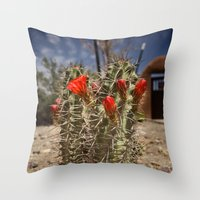 Prickly Beauty Throw Pillow