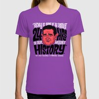 The Darkest Hours In Our… Womens Fitted Tee Ultraviolet SMALL