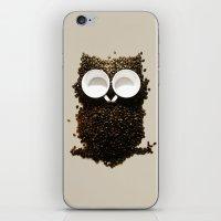 Hoot! Night Owl! iPhone & iPod Skin