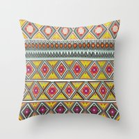 Amber Veneto Throw Pillow