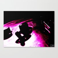 Voodoo Guitar Canvas Print