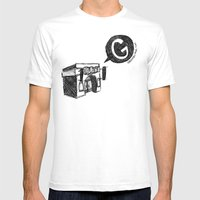 Sketch Comedy Mens Fitted Tee White SMALL