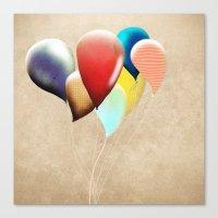 Happy Birthday Transpare… Canvas Print