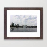 False Creek Framed Art Print