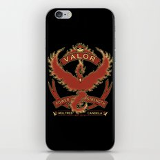 Team Red Valor iPhone & iPod Skin