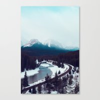 Canadian Rocky Mountains… Canvas Print
