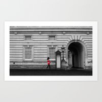 Royal Guard. Art Print