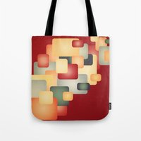 A Warm Retro Feeling. Tote Bag