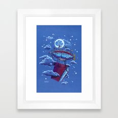 A Storybook Adventure — Bedtime Series Framed Art Print