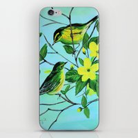 Thinking Of Spring  iPhone & iPod Skin