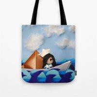 Troy Marinera ~ Sailor Tote Bag