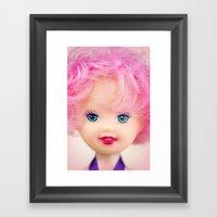 Pink & Cheery Framed Art Print