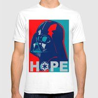 Darth Vader 2016 Mens Fitted Tee White SMALL