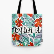 Killin' It – Tropical … Tote Bag