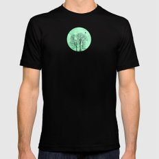 Perch SMALL Black Mens Fitted Tee