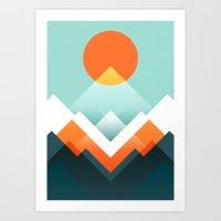 Everest Art Print