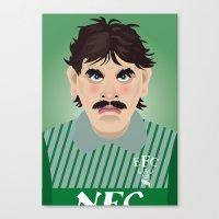 Big Neville Southall, Ev… Canvas Print