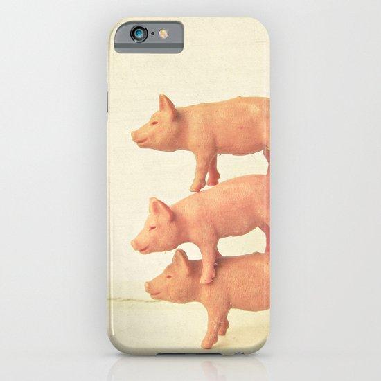 Three Little Pigs iPhone & iPod Case