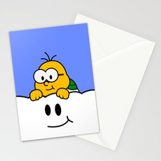 Minimalist Lakitu Stationery Cards