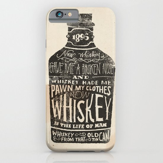 Whiskey iPhone & iPod Case